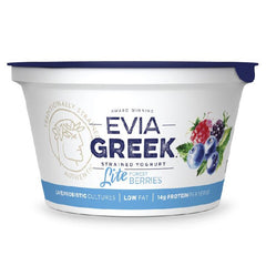Evia - Yoghurt Greek Strained - Light Forest Berries (170g)