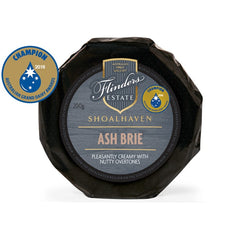 Brie - Ash Brie - Prepacked Wheel (200g) Flinders Estate