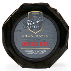 Flinders Estate Shoalhaven Double Brie Cheese 200g