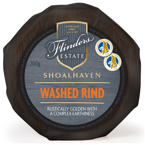 Washed Rind - Prepacked Wheel - Flinders Estate (200g)