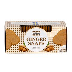 Nyakers Ginger Snaps Almond 150g