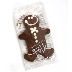 Gingerbread Folk - Biscuits Gingerbread Man - Chocolate (30g)