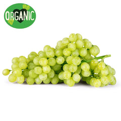 Grapes White Seedless Organic (350g punnet)