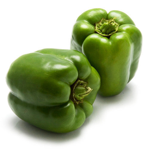 Capsicum Green (each) , S04S-Veg - HFM, Harris Farm Markets
