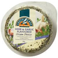 Cream Cheese South Cape Herb&Garlic 200g , Frdg1-Cheese - HFM, Harris Farm Markets