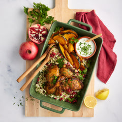 Moroccan Spiced Chicken - with Israeli Couscous & Pumpkin