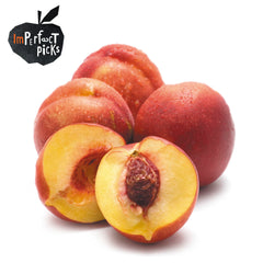 Nectarines Yellow Imperfect Pick Value Range (min 500g) , S11S-Fruit - HFM, Harris Farm Markets