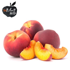 Peaches Yellow Imperfect Pick Value Range (min 500g) , S11S-Fruit - HFM, Harris Farm Markets