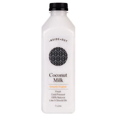 Inside Out - Coconut Milk Original - Cold Pressed (1L)