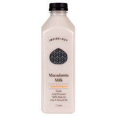 Inside Out - Macadamia Milk Original - Cold Pressed (1L)