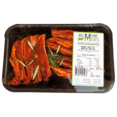 Lamb Moroccan Ribs Organic Grass Fed Belmore Meats 450 - 550g , Frdg5-Meat - HFM, Harris Farm Markets