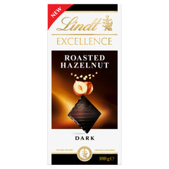 Lindt Excellence Dark Roasted Hazelnut 100g