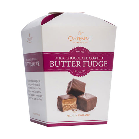 Copperpot - Butter Fudge - Milk Chocolate Coated (175g)