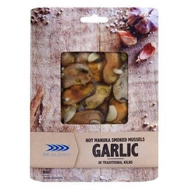 Sealord - Mussel Smoked - Garlic (180g) Sydney Fresh Seafood