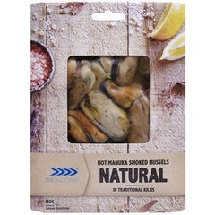 Sealord - Mussel Smoked - Natural (180g) Sydney Fresh Seafood