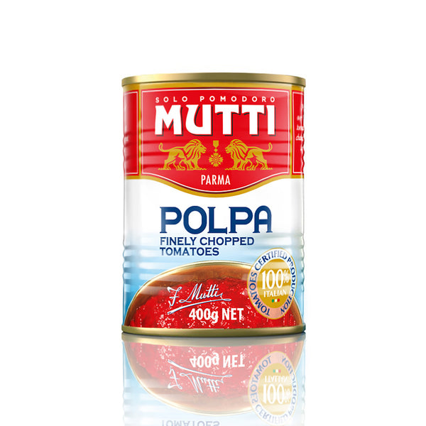 Mutti Polpa Chopped Tomato 400g , Grocery-Can Veg - HFM, Harris Farm Markets