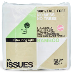 No Issues - Paper Towels - Tree Free (2 ply, 120 Sheets, 2 Rolls)