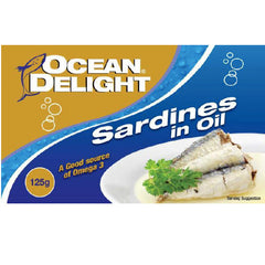 Ocean Delight Sardines In Oil 125g , Grocery-Can or Jar - HFM, Harris Farm Markets