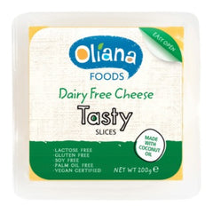 Oliana - Dairy Free Cheese Tasty Slices (200g)