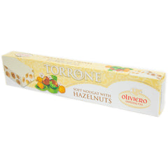 Oliviero - Soft Nougat - With Hazelnuts (150g)