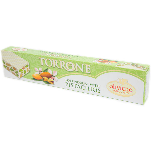 Oliviero - Soft Nougat - With Pistachio (150g)