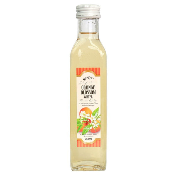 Chefs Choice Orange Blossom Water 250ml , Grocery-Asian - HFM, Harris Farm Markets