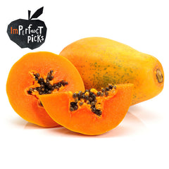 Papaya Imperfect Pick Value Range (min 500g) , S10S-Fruit - HFM, Harris Farm Markets