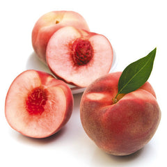 Peaches White Large Premium (Tray) , Whsl-Fruit - HFM, Harris Farm Markets
