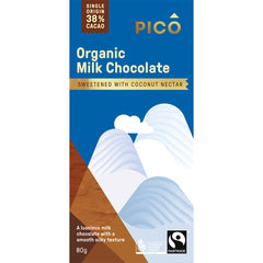 Pico - Chocolate - Organic Milk (80g)