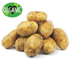 Potatoes - Dutch Cream - Organic (min 1kg)