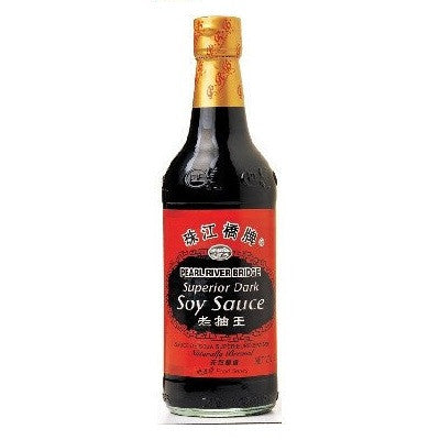PRB Dark Soy Sauce 600ml , Grocery-Asian - HFM, Harris Farm Markets