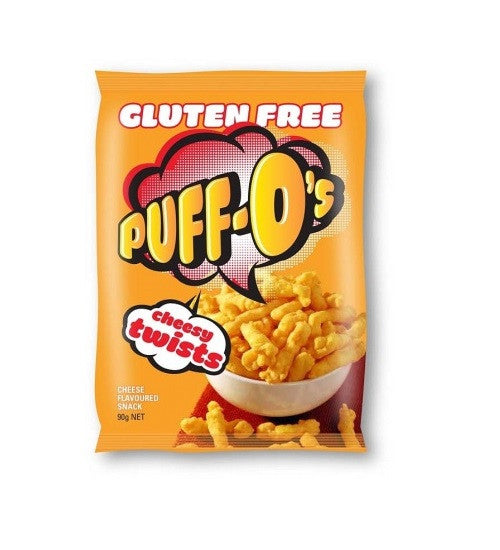 Puff Os Snack Twist Cheese 90g , Grocery-Confection - HFM, Harris Farm Markets