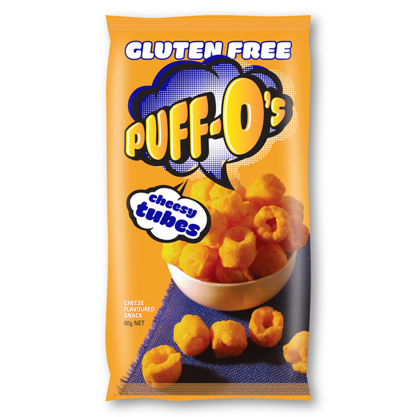 Puff Os - Snack Tubes Cheese (90g)