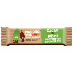 Pure Good Bars Cacao Mint Protein 40g , Grocery-Confection - HFM, Harris Farm Markets