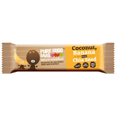 Pure Good Bars Coconut Banana Chia Seed 40g , Grocery-Confection - HFM, Harris Farm Markets