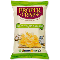 Proper Crisps Cider Vinegar and Sea Salt Chips | Harris Farm Online
