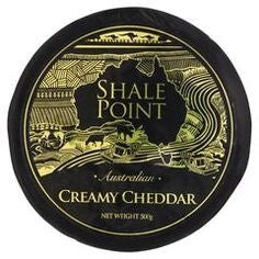 Cheddar - Creamy Cheddar Wheel (500g) Shale Point