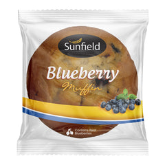 Sunfield - Bread Muffin - Blueberry (160g)