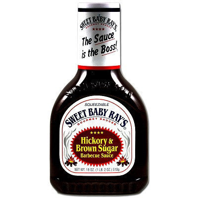 Sweet Baby Ray'S Hickory & Brown Sugar Bbq Sauce 425g , Grocery-Cooking - HFM, Harris Farm Markets
