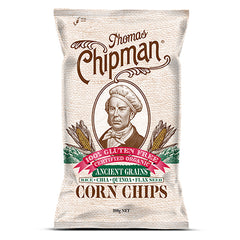 Thomas Chipman - Corn Chips - Ancient Grains G/F (200g)