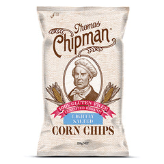 Thomas Chipman - Corn Chips - Lightly Salt G/F (230g)