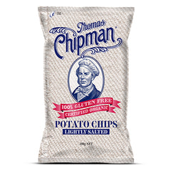Thomas Chipman - Potato Chips - Lightly Salted G/F (100g)