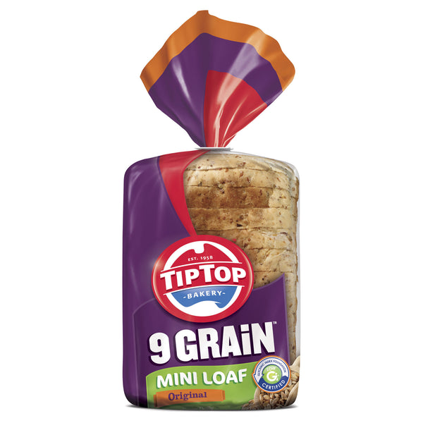 Tip Top 9Grain Mini Loaf Original 400g , Z-Bakery - HFM, Harris Farm Markets