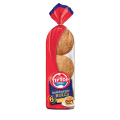 Tip Top - Bread Hamburger Rolls (6pk)