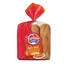 Tip Top - Bread Hot Dog Rolls (6pk)
