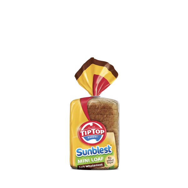Tip Top Sunblest Mini Loaf Soft Wholemeal 400g , Z-Bakery - HFM, Harris Farm Markets