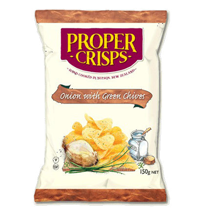Proper Crisps Onion with Green Chives Chips | Harris Farm Online
