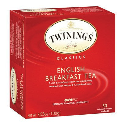 Twinings Teabags English 50s , Grocery-Coffee - HFM, Harris Farm Markets