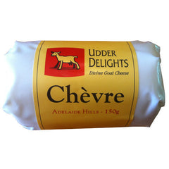 Goat Cheese Udder Delight Chevre 150g , Frdg1-Cheese - HFM, Harris Farm Markets