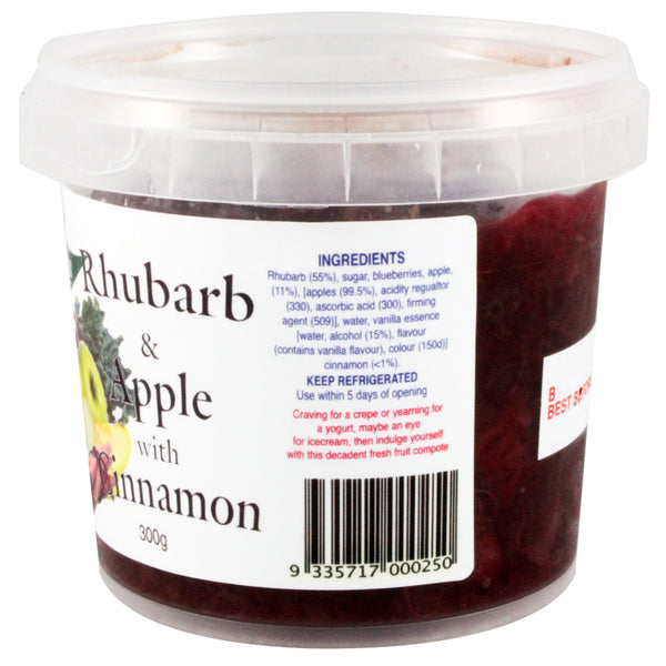 Vegetali - Dessert Rhubarb & Apple with Cinnamon (300g)
